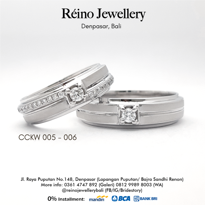 Wedding Ring - Cincin Nikah by Reino Jewellery - 005