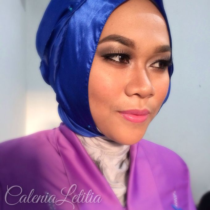 Graduation Makeup by Calenia Letitia Makeup Artist - 002