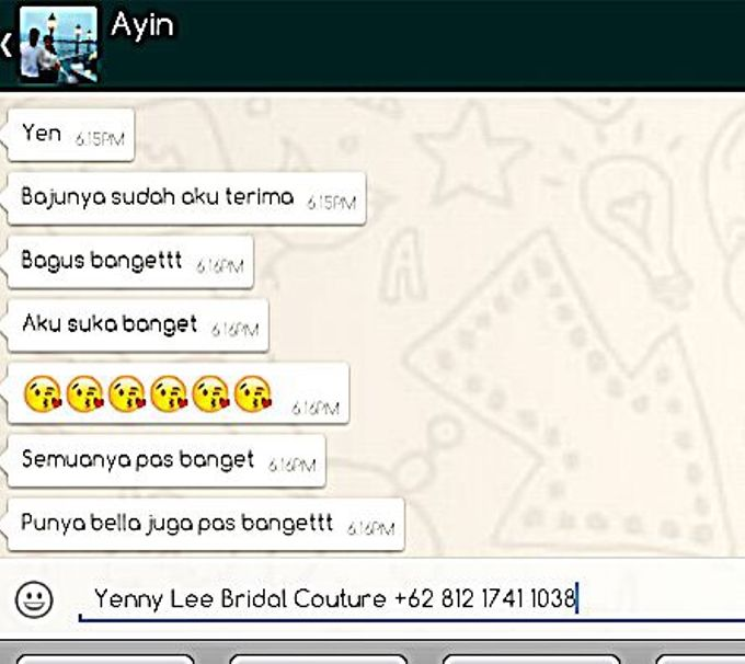 Testimonial by Yenny Lee Bridal Couture - 003