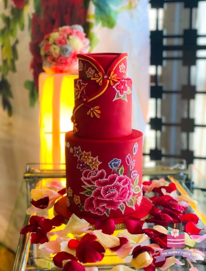 Wedding Cakes by The Quirky Taste - 019