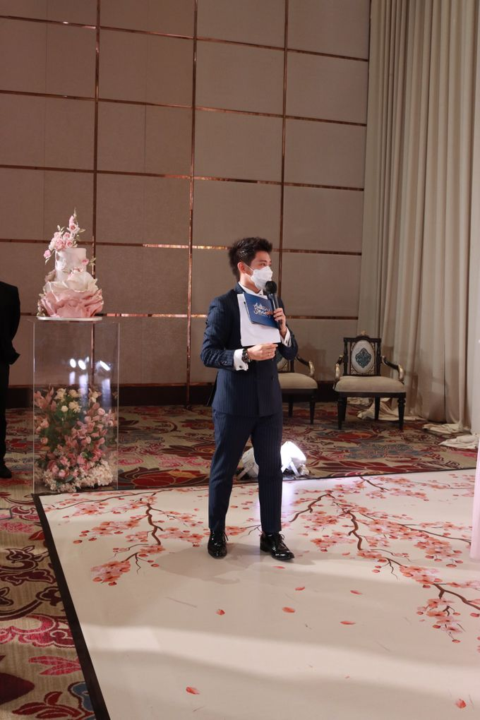 MC Teapai and New Normal Intimate Wedding Fairmont Hotel Jakarta - Anthony Stevven by Anthony Stevven - 023