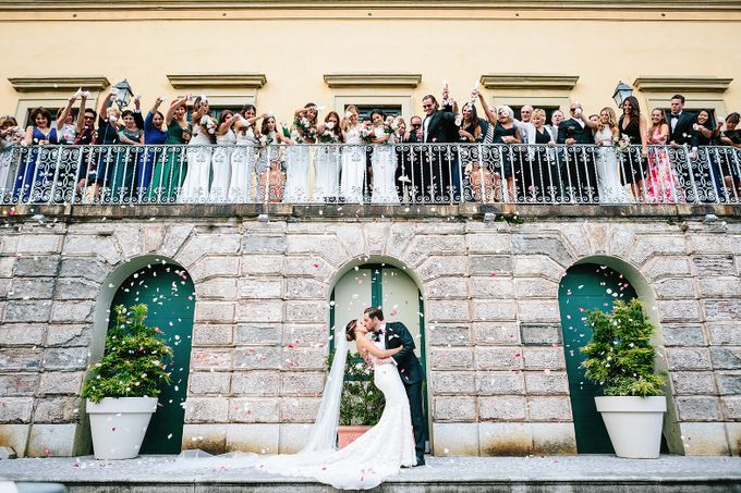Romantic Wedding in Lake Como by Elena Panzeri Makeup & Hair Artist - 001