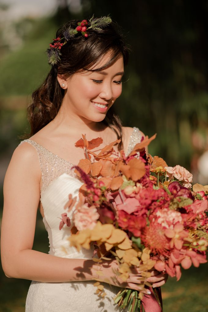 Three Beautiful Brides by Jennis Wong Makeup - 001