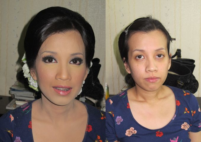 Before - After MakeUp & Hair Do by Andiyanto Salon - 002