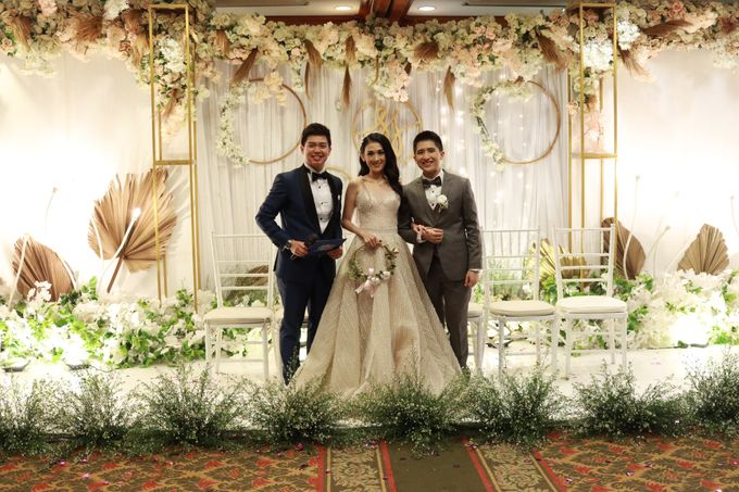 MC Intimate Wedding At Mercantile Jakarta - Anthony Stevven by tanmell makeup - 001