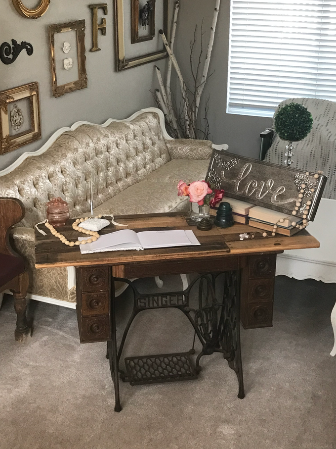 Vintage furniture, decor and props by Celebrations in Time - 001
