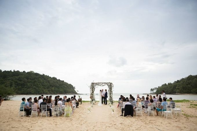 Celine & Philippe by The Bridal Planner Thailand - 007