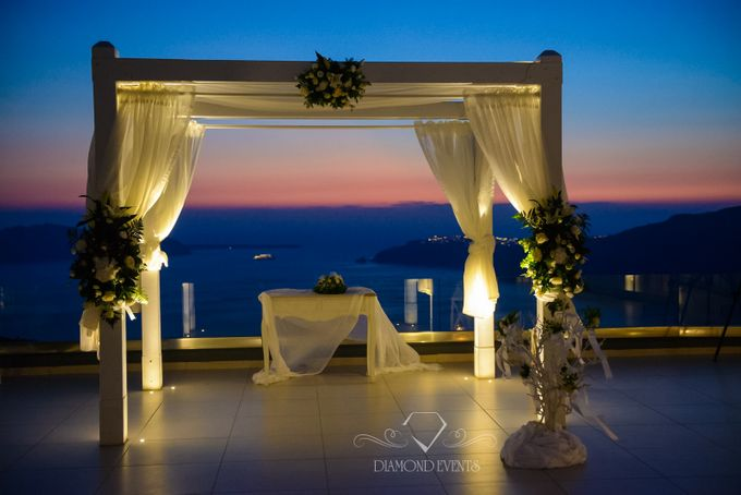 Santorini wedding by Diamond Events - 010
