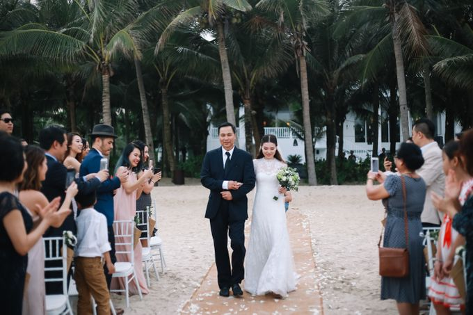 Wedding day Si & Kat - Premier Village Da Nang Resort by Anh Phan Photographer   vietnam weddng photographer - 015