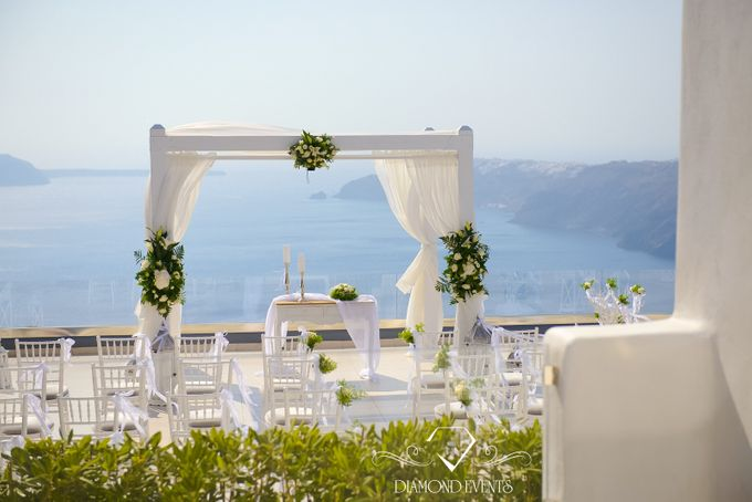 Santorini wedding by Diamond Events - 011