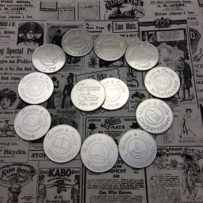 Wedding Coins by Jigs and Clays - 001