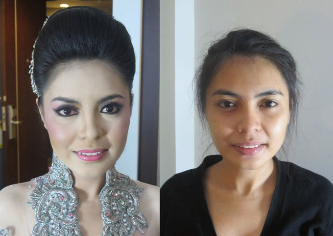 Before - After MakeUp & Hair Do by Andiyanto Salon - 006