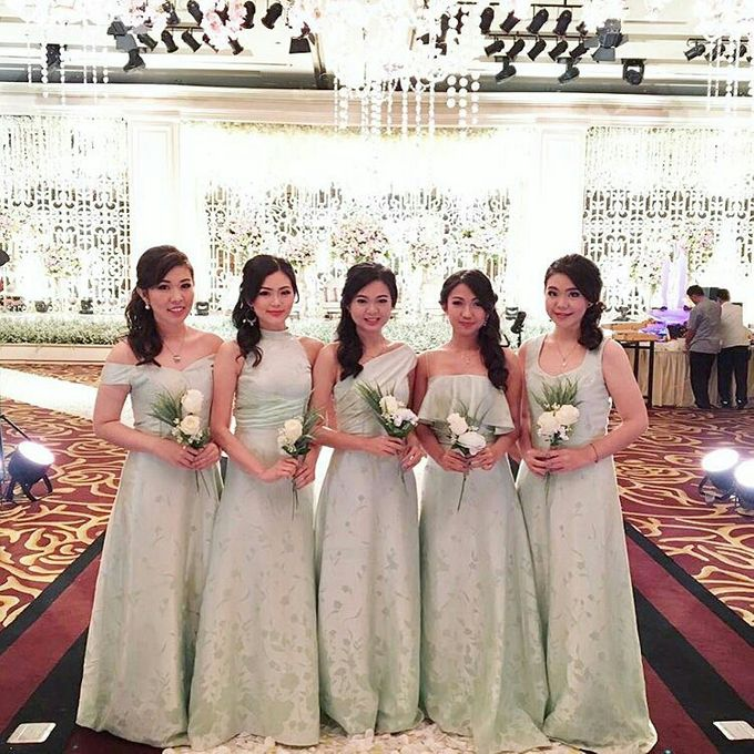 BRIDESMAIDS & FAMILY HAIRDO - ELSY by Priska Patricia Makeup - 001