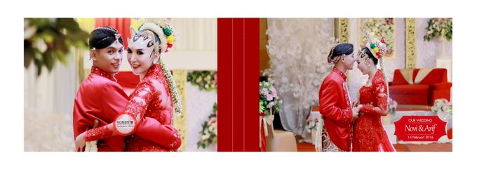 Wedding Novi & Arif by MOMENTO Photography - 001