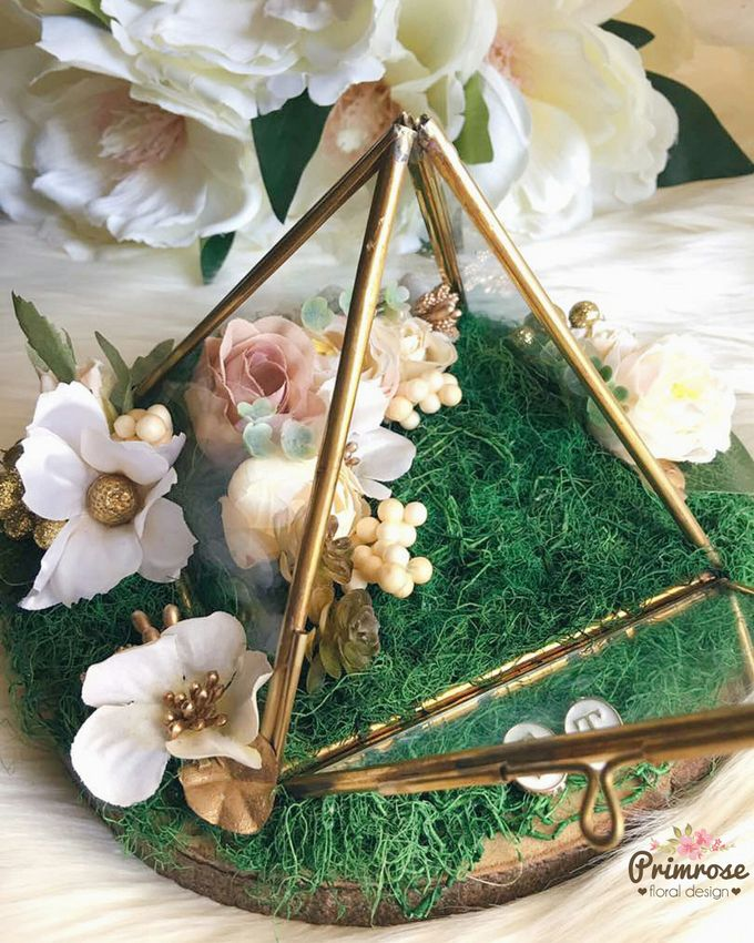 Wedding Ring Box by Primrose Floral Design - 034