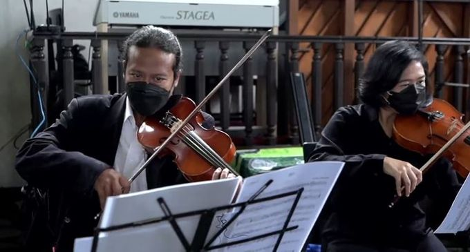 String Quartet Live Streaming by Truntum Singers & Ensemble - 002