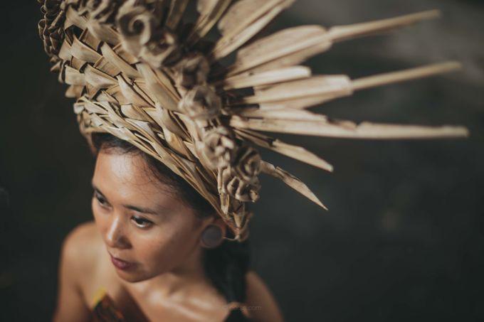 Wedding Headdresses by Make A Scene! Bali - 015