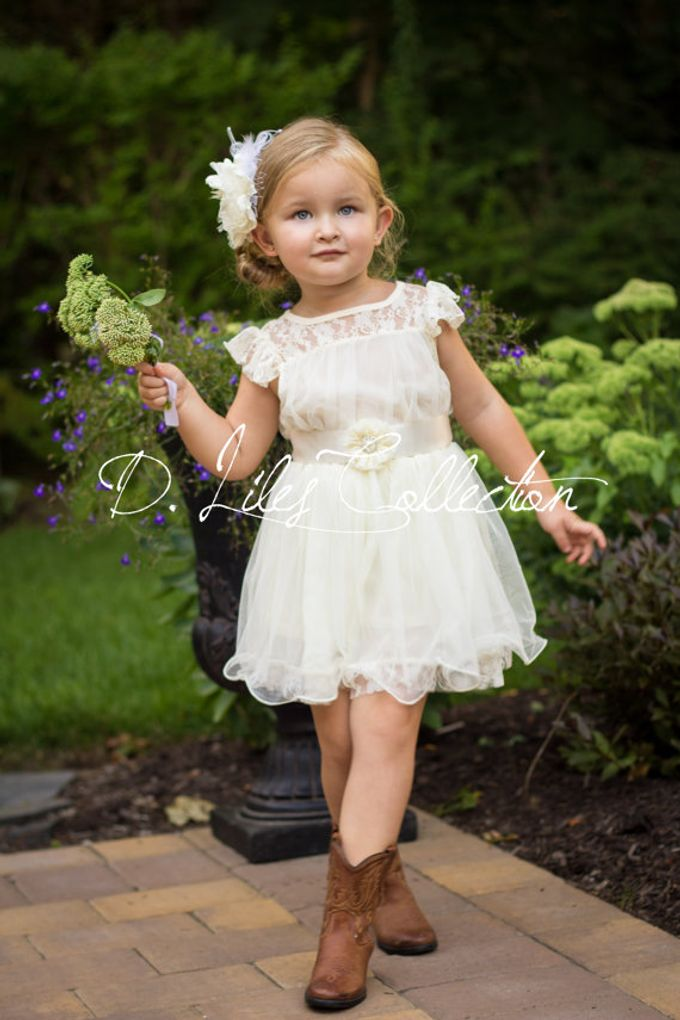 D Liles Collection Flower girl dresses by D. Liles Collection - 026