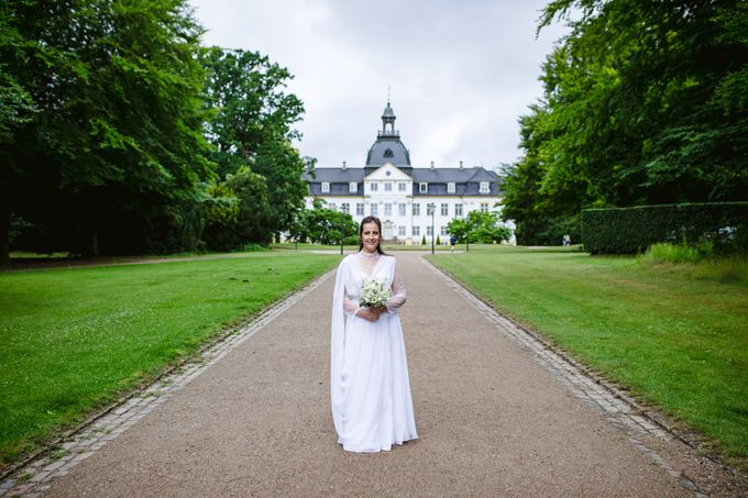 Open Air Wedding in Charlottenlund, Greater Copenhagen by Ieva Vi Photo by Ieva Vi Photography - 011