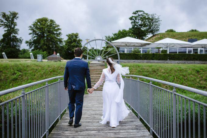 Open Air Wedding in Charlottenlund, Greater Copenhagen by Ieva Vi Photo by Ieva Vi Photography - 015