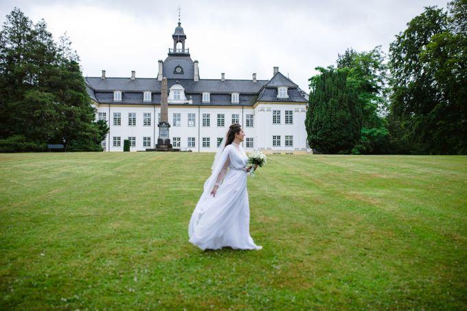 Open Air Wedding in Charlottenlund, Greater Copenhagen by Ieva Vi Photo by Ieva Vi Photography - 002