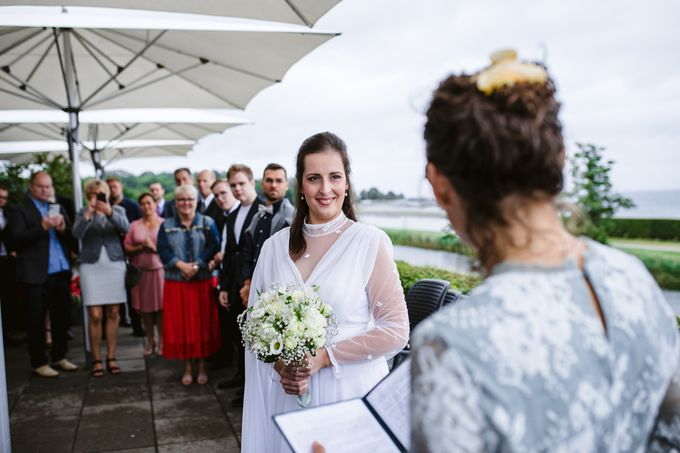 Open Air Wedding in Charlottenlund, Greater Copenhagen by Ieva Vi Photo by Ieva Vi Photography - 019