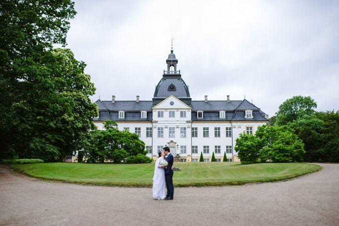 Open Air Wedding in Charlottenlund, Greater Copenhagen by Ieva Vi Photo by Ieva Vi Photography - 001