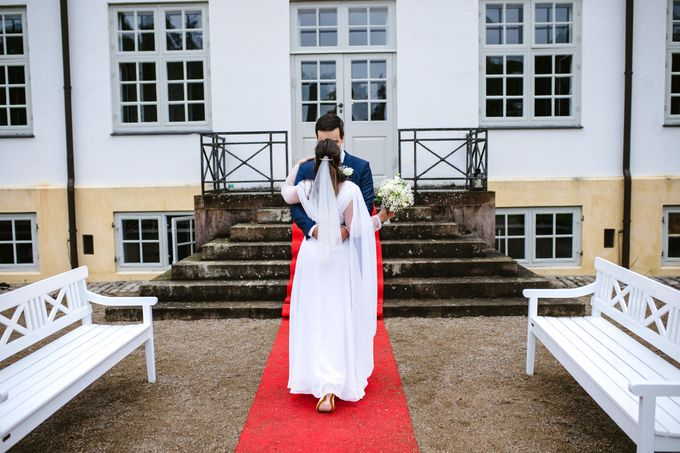 Open Air Wedding in Charlottenlund, Greater Copenhagen by Ieva Vi Photo by Ieva Vi Photography - 006