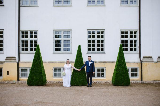 Open Air Wedding in Charlottenlund, Greater Copenhagen by Ieva Vi Photo by Ieva Vi Photography - 007