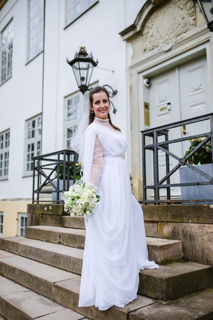 Open Air Wedding in Charlottenlund, Greater Copenhagen by Ieva Vi Photo by Ieva Vi Photography - 009