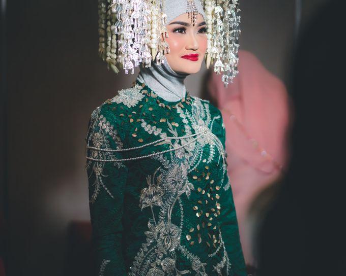 Syafira Anandayu (Aini) & Aran Wedding by Le Clemmie by Amelia - 004