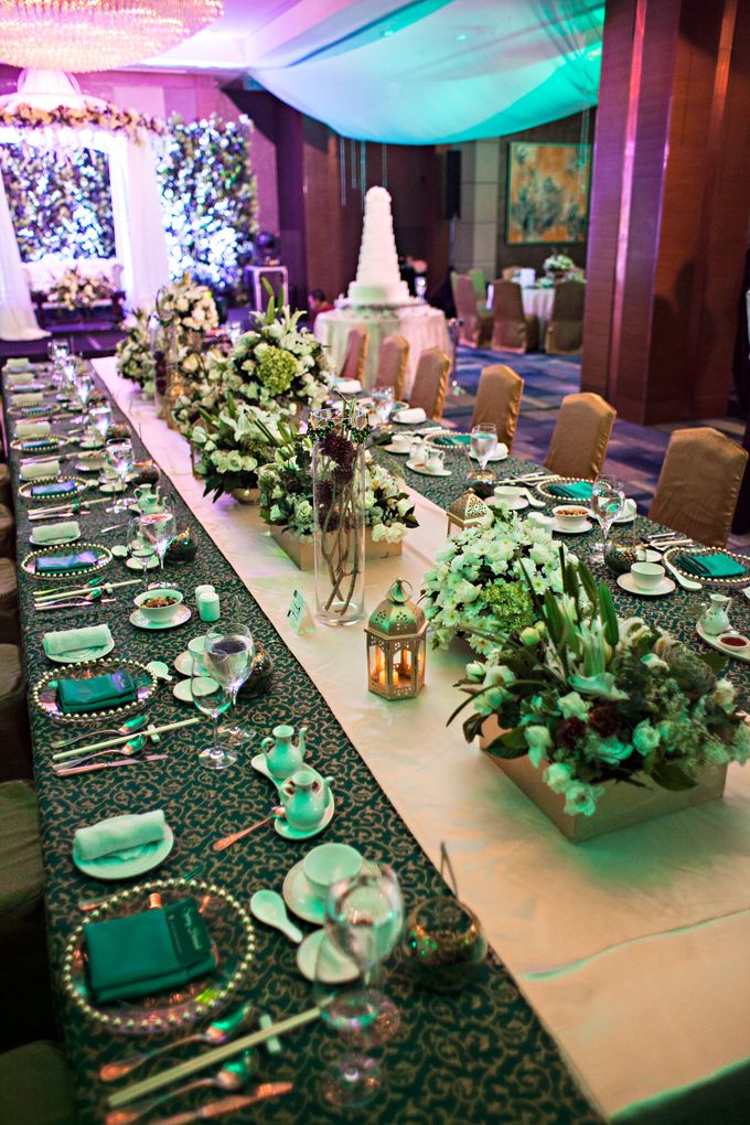 Reception Styling by Natural Art Flowers and Decors - 024