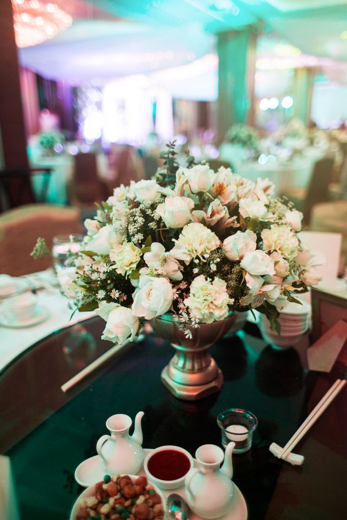 Reception Styling by Natural Art Flowers and Decors - 002