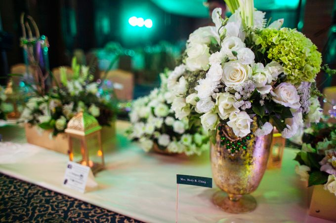 Reception Styling by Natural Art Flowers and Decors - 025