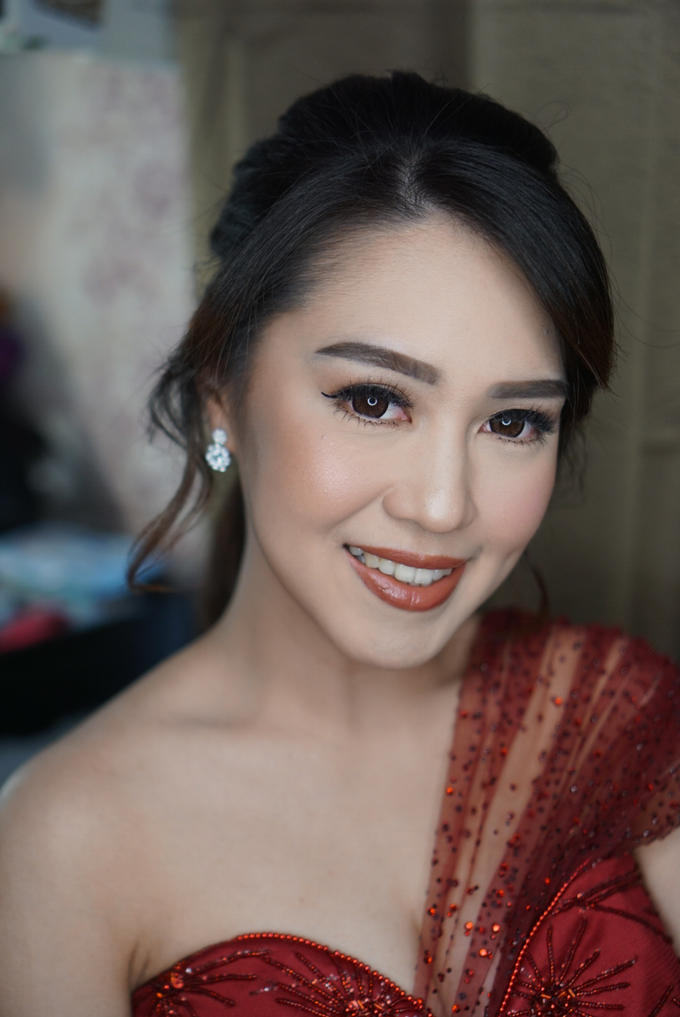 Engagement for Sisca  by Chesara Makeup - 006