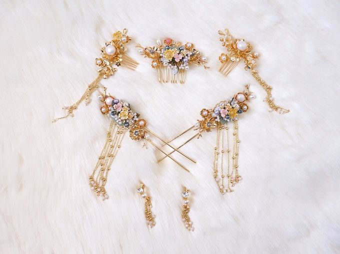 Catalog - Chinese Hairpiece SS/18 by NOMA Jewelry & Accessories - 011