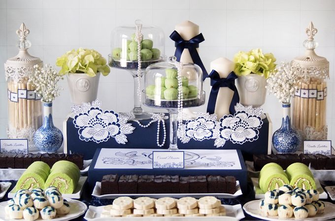 East meets West Wedding by Rosette Designs & Co - 002