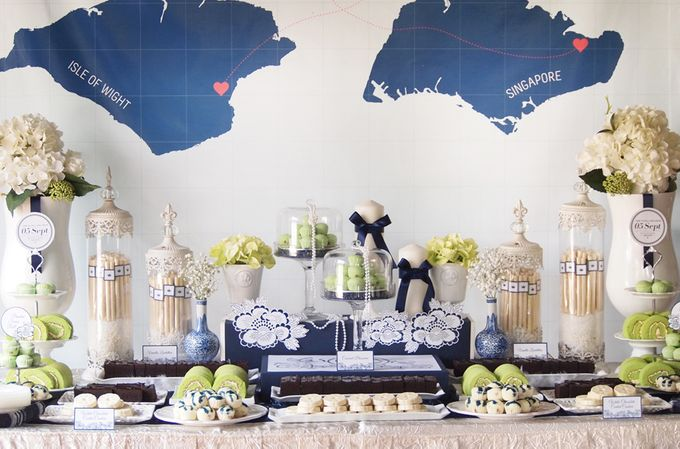 East meets West Wedding by Rosette Designs & Co - 001