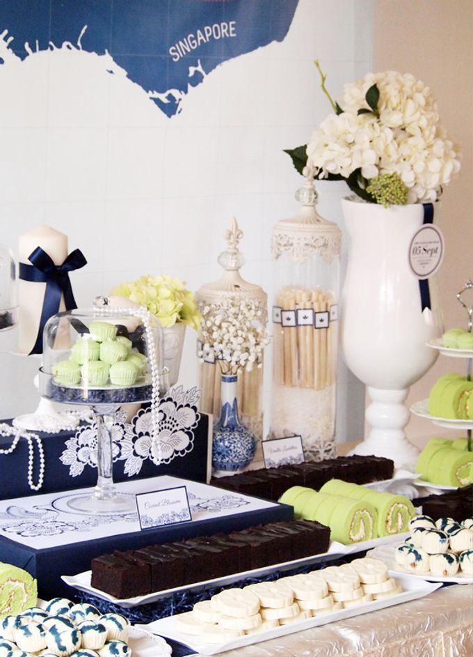 East meets West Wedding by Rosette Designs & Co - 005