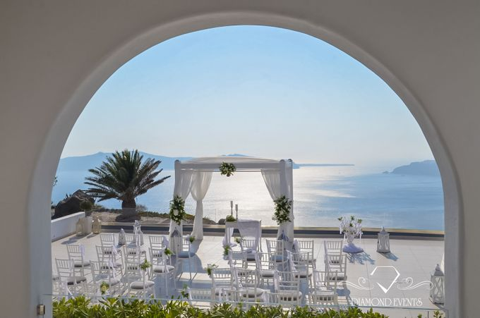 Santorini wedding by Diamond Events - 001