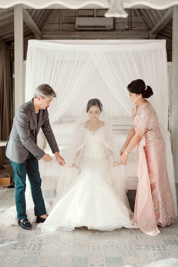The Wedding of Stella & Fajar by Bali Eve Wedding & Event Planner - 009