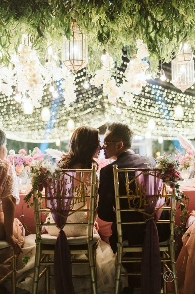 Soft Purple & Lavender Decoration Wedding by Bali Izatta Wedding Planner & Wedding Florist Decorator - 013