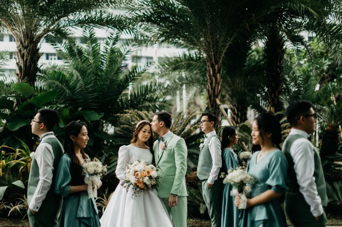 Wedding Day : Chris & Alexa by CARA wedding - 006