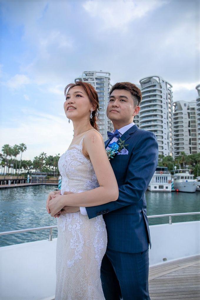 Chris & Candy - A Yacht Wedding by ONE°15 Marina Sentosa Cove, Singapore - 017