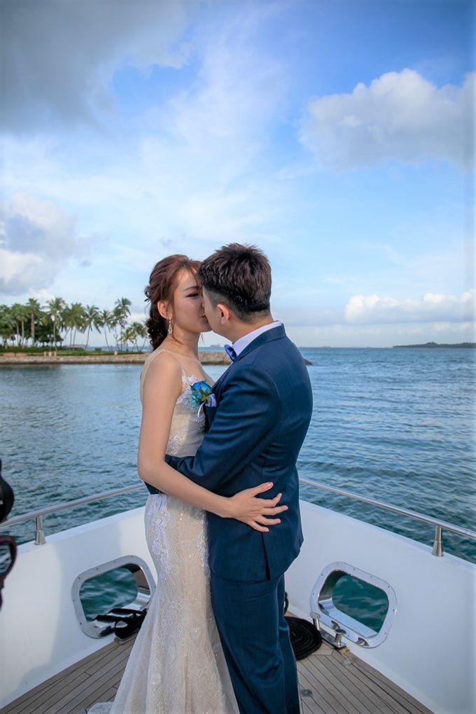 Chris & Candy - A Yacht Wedding by ONE°15 Marina Sentosa Cove, Singapore - 018