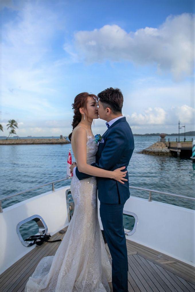 Chris & Candy - A Yacht Wedding by ONE°15 Marina Sentosa Cove, Singapore - 019