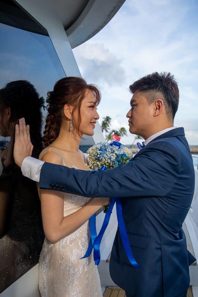Chris & Candy - A Yacht Wedding by ONE°15 Marina Sentosa Cove, Singapore - 020