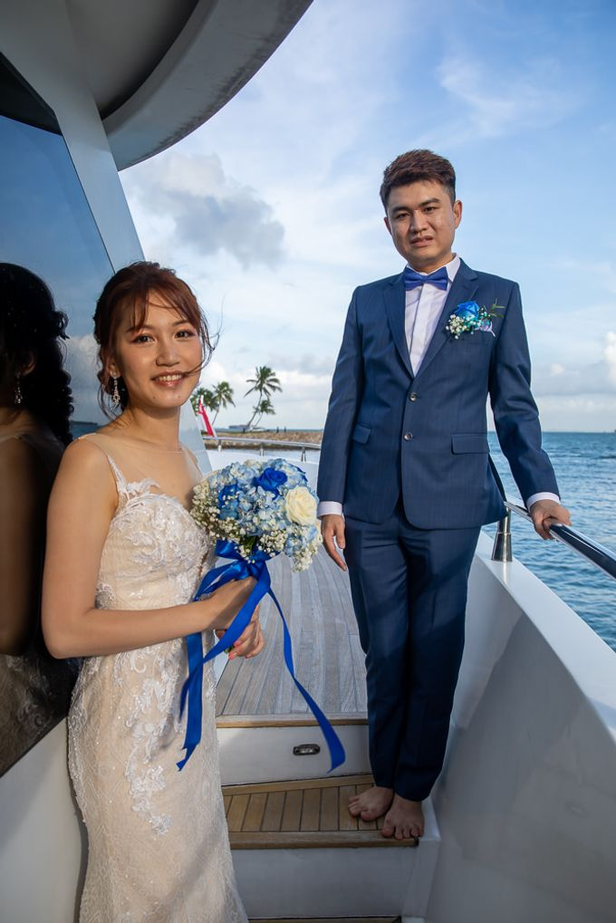 Chris & Candy - A Yacht Wedding by ONE°15 Marina Sentosa Cove, Singapore - 021