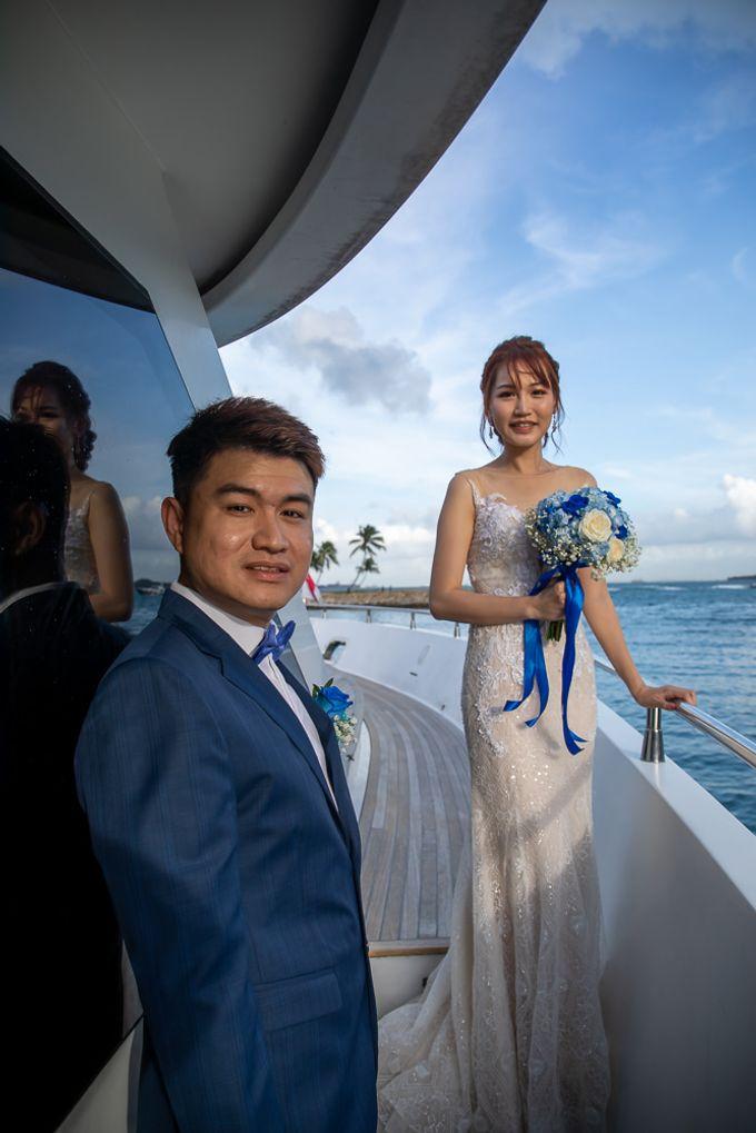Chris & Candy - A Yacht Wedding by ONE°15 Marina Sentosa Cove, Singapore - 022