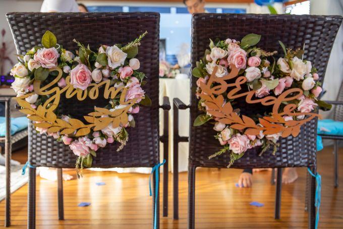Chris & Candy - A Yacht Wedding by ONE°15 Marina Sentosa Cove, Singapore - 023